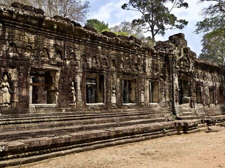 Architecture of ancient temple complex Angkor, Siem Reap, Cambodia Reklamní fotografie