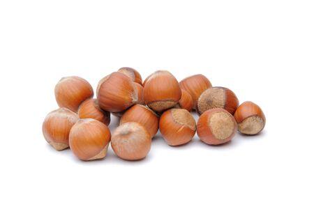 Isolated  hazelnuts Stock Photo - 4551802