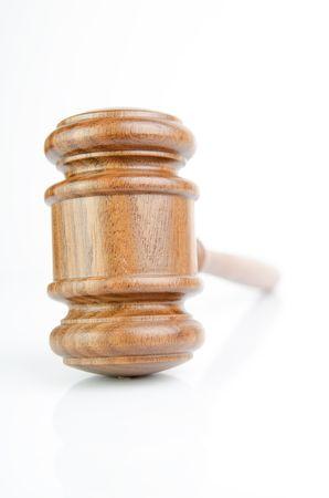 Wood gavel photo
