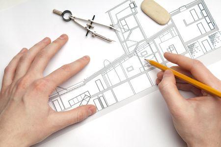 housing plan: architecture blueprint & tools