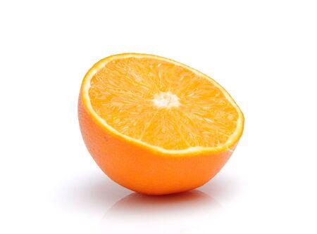 fruited: Orange on white