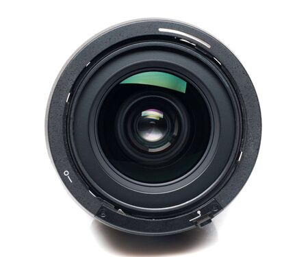 camera lens: Geïsoleerde cameralens
