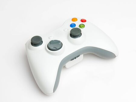 console: White game pad
