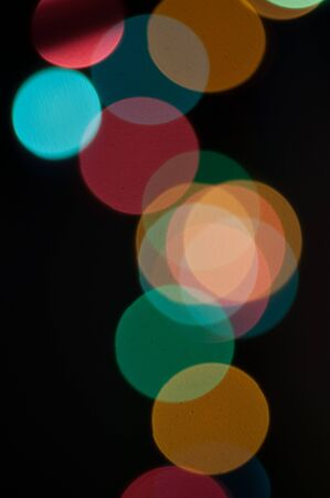 abstract light defocused background photo