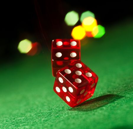 Two dice Stock Photo - 6526596