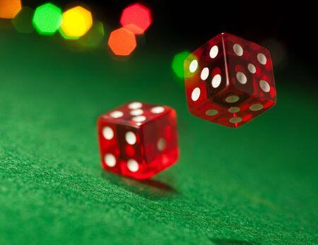 Two dice Stock Photo - 6526622