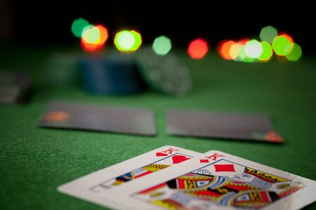 red bluff: poker concept