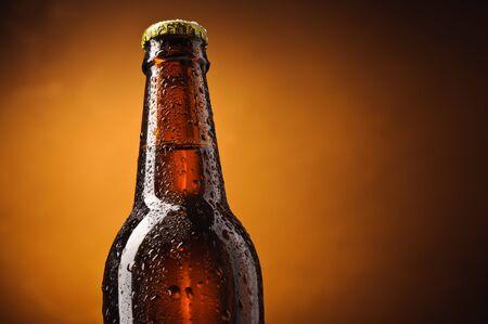 Bottle of beer Stock Photo