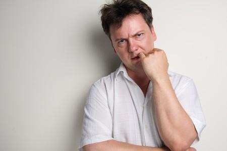 persona enojada: Chico malo