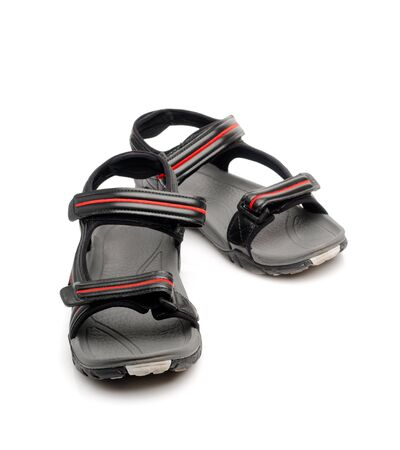 sandals isolated: Sandals isolated over white