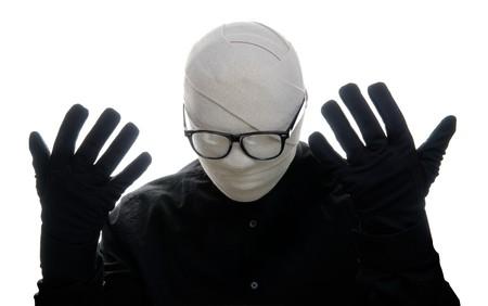 niewidoczny: Niewidzialny cz?owiek