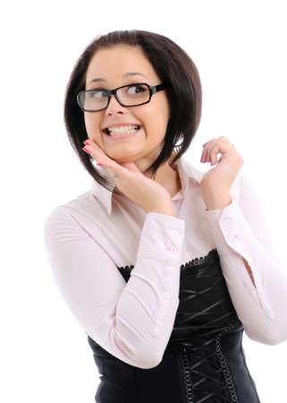 Happy woman Stock Photo - 8309567