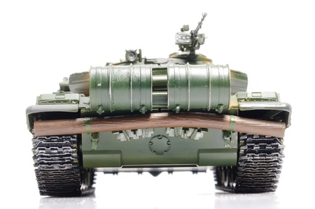 Scale model of russian tank photo