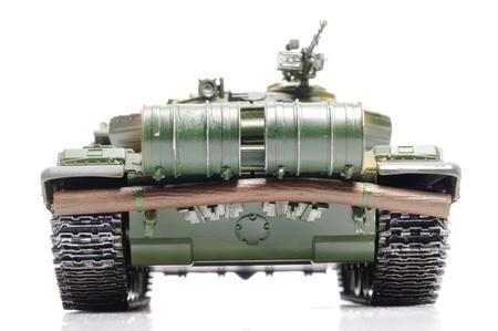 Scale model of russian tank photo
