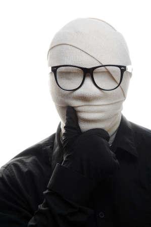 Invisible man photo