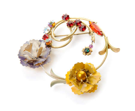 beatuful: Beatuful brooch with flowers