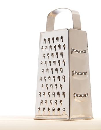 grater: Grater. Isolated over white Stock Photo