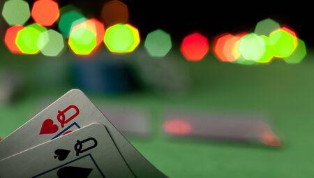jeu de cartes: concept de poker
