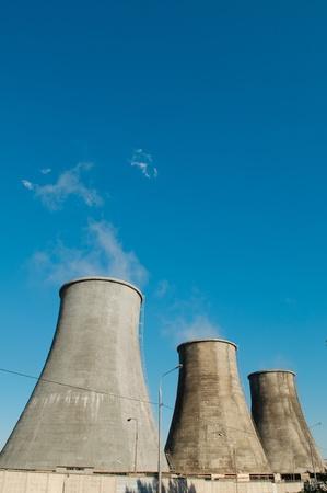 Power plant Stock Photo - 8617153