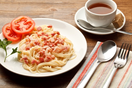 spaghetti saus: Spaghetti Carbon ara