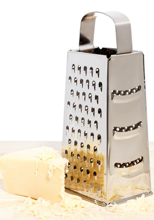 cheese grater: Grater with cheese