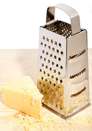 grater: Grater with cheese