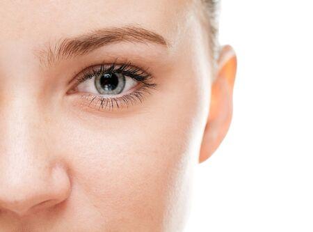 part of body: Womans eye