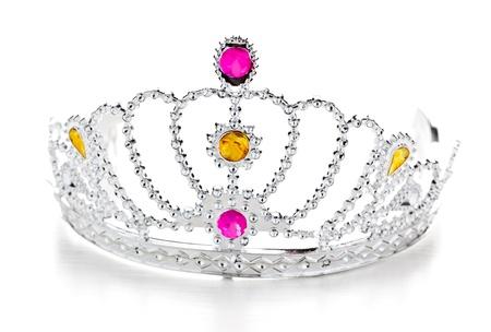 queen diamonds: Corona isolato