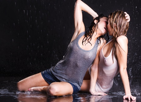 Wet women photo