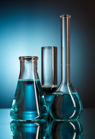 Laboratory glassware Stock Photo - 8996546