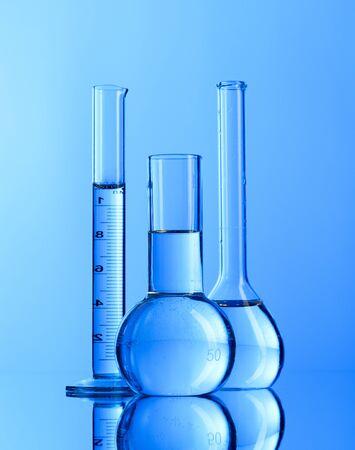 Laboratory glassware Stock Photo - 8996698