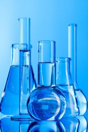 Laboratory glassware photo