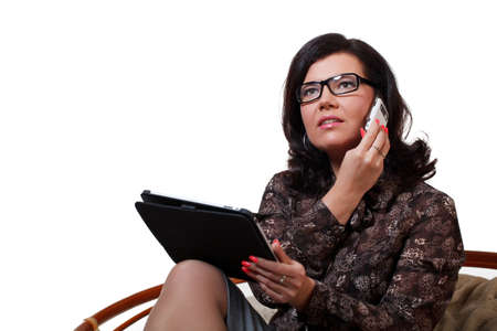 Dreaming businesswoman Stock Photo - 8996517