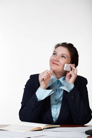 Dreaming businesswoman Stock Photo - 8996580