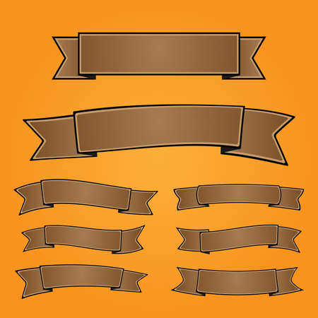 Set of blank vector banners Stock Vector - 9198539