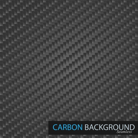 Carbon semless vector background.