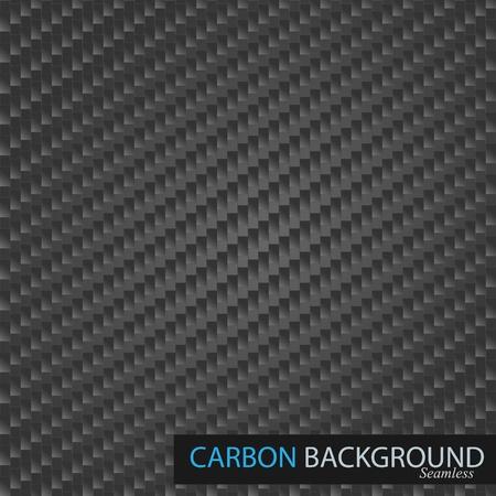 fibra: Semless carbonio vettoriali sfondo.