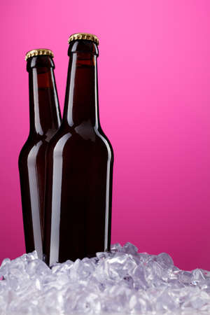 Two bottles of beer Stock Photo - 9752274