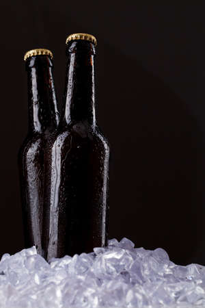 Two bottles of beer Stock Photo - 9753626