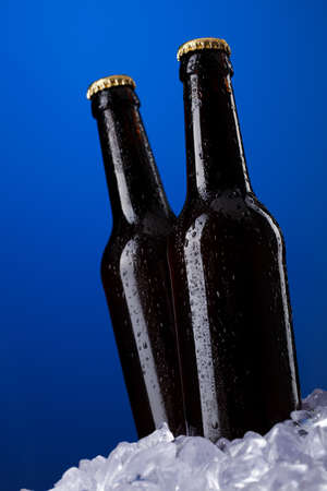 Two bottles of beer photo