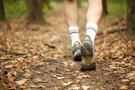 trail running: Running concept Stock Photo