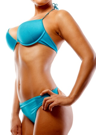 Синий бикини