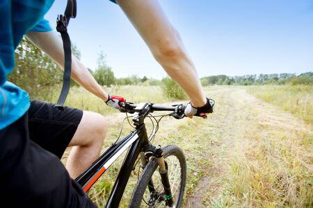 Mountainbiker photo