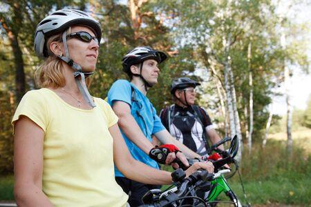 bicyclists: Bicyclists Stock Photo