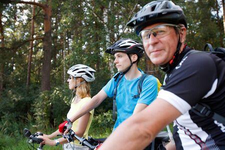 Bicyclists Stock Photo - 10411701