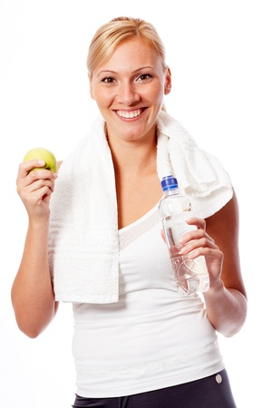 Young woman after workout Stock Photo - 10411485