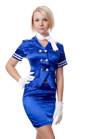 air hostess: Beautiful stewardess.