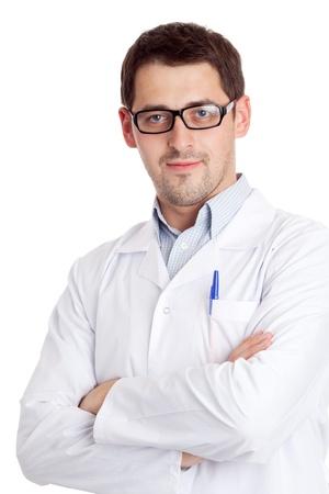 Mannelijke wetenschapper Stockfoto