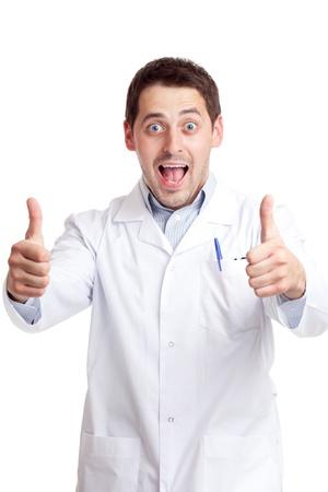 Male scientist photo