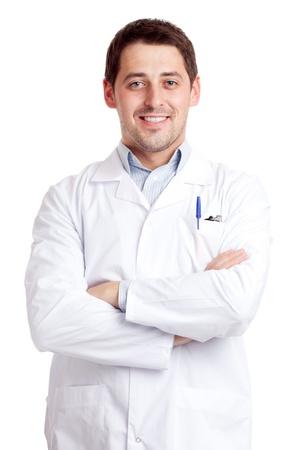 scientist man: Male scientist